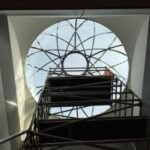 Glass-cupola-installation