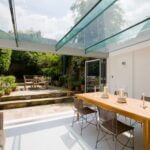 Glass-roof-extension