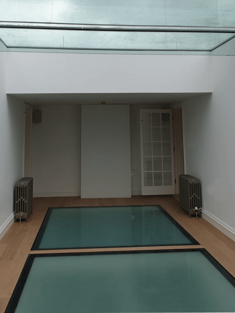 UKrooflights glass floor